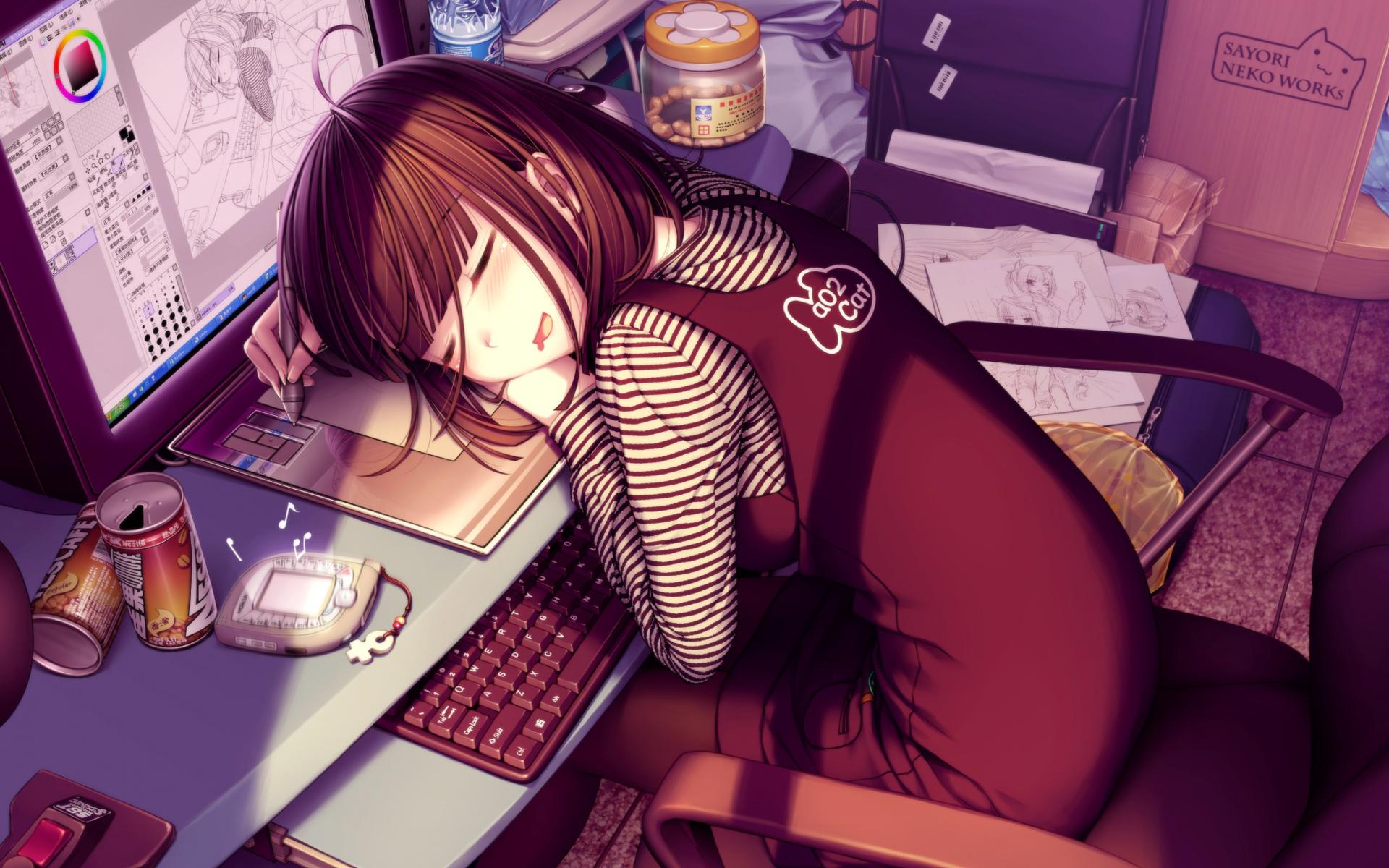Fan Club Chocolat et Vanilla !~ Sayori-sleeping